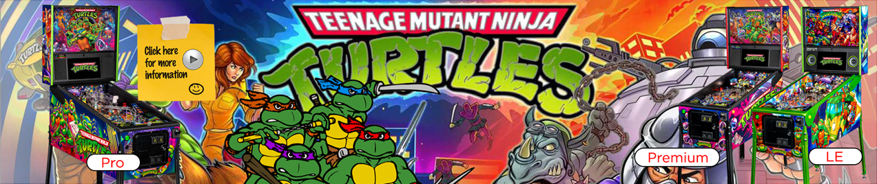 Teenage Mutant Ninja Turtles Pinball by Stern Pinball