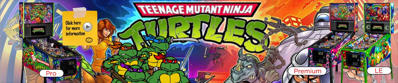 Teenage Mutant Ninja Turtles Pinball by Stern Pinball