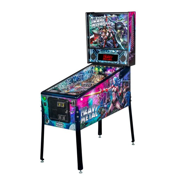 Heavy Metal Limited Edition Pinball by Stern Pinball and Incendium