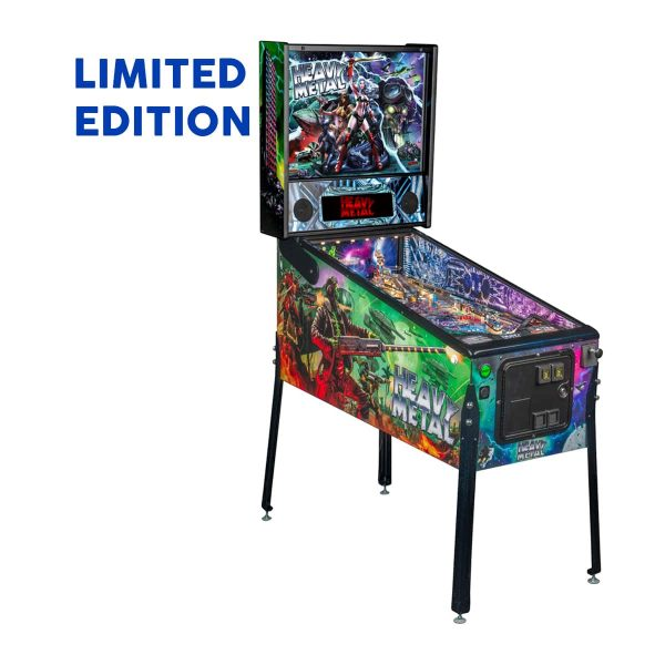 Heavy Metal Limited Edition Pinball Right Side by Stern Pinball and Incendium