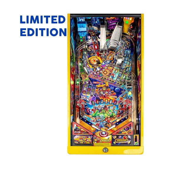 The Avengers Infinity Quest Limited Edition Pinball Playfield by Stern Pinball