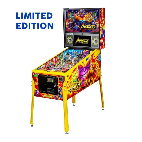 The Avengers Infinity Quest Limited Edition Pinball Full Side by Stern Pinball