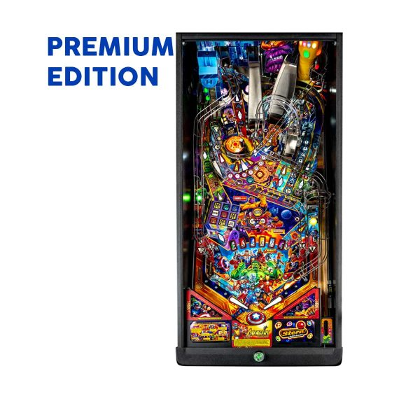 The Avengers Infinity Quest Premium Pinball Playfield by Stern Pinball
