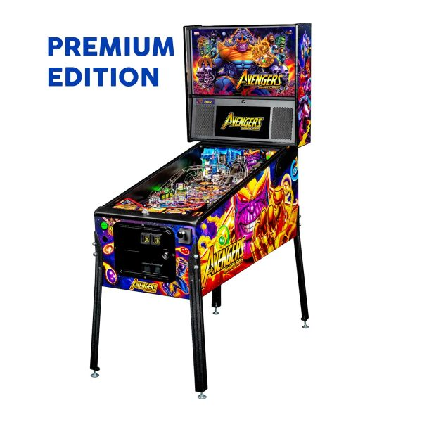 The Avengers Infinity Quest Premium Pinball Full Side by Stern Pinball