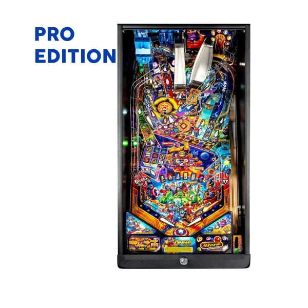 The Avengers Infinity Quest Pro Pinball Playfield by Stern Pinball
