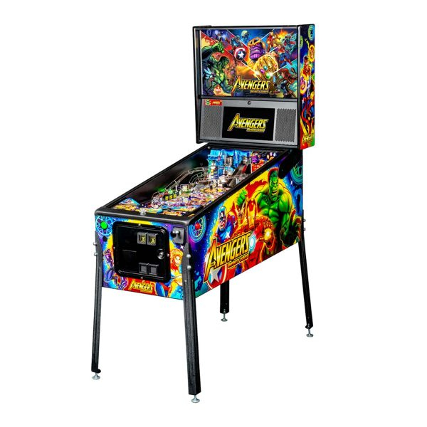 The Avengers Infinity Quest Pro Edition Full by Stern Pinball