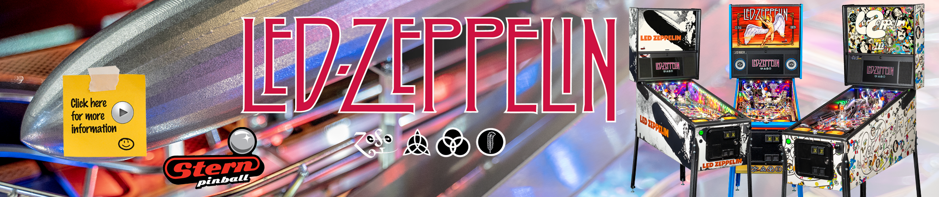 Led Zeppelin by Stern Pinball