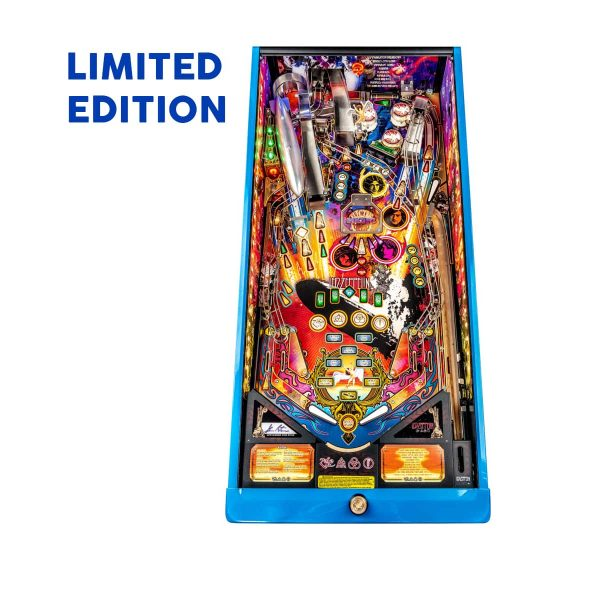 Led Zeppelin Limited Edition Playfield by Stern Pinball