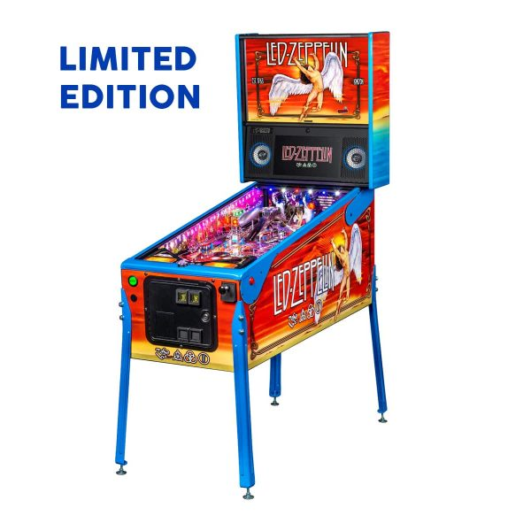 Led Zeppelin Limited Edition Full by Stern Pinball