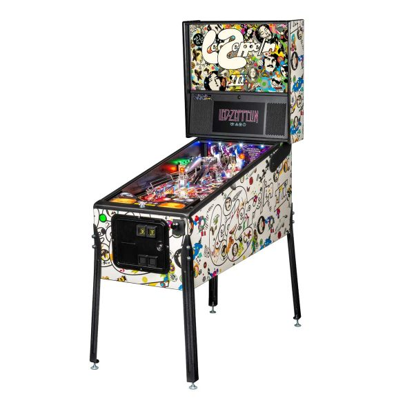 Led Zeppelin Pro Edition Full by Stern Pinball