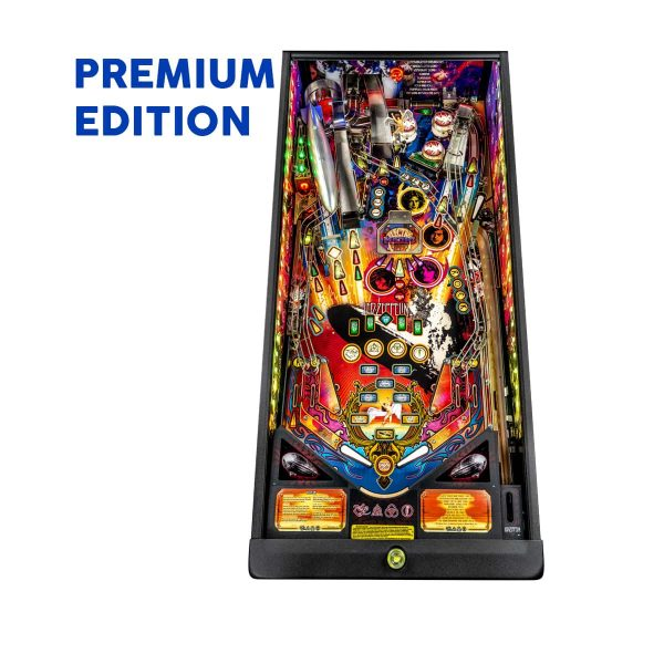Led Zeppelin Premium Edition Playfield by Stern Pinball