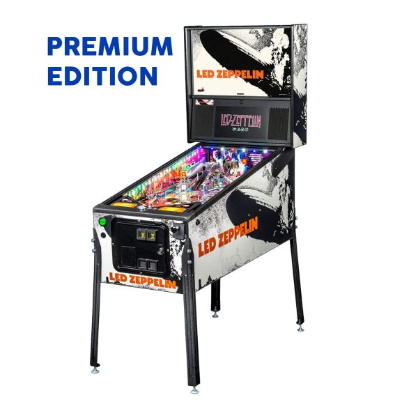 Led Zeppelin Premium Edition Full by Stern Pinball