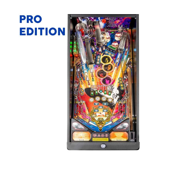 Led Zeppelin Pro Edition Playfield by Stern Pinball