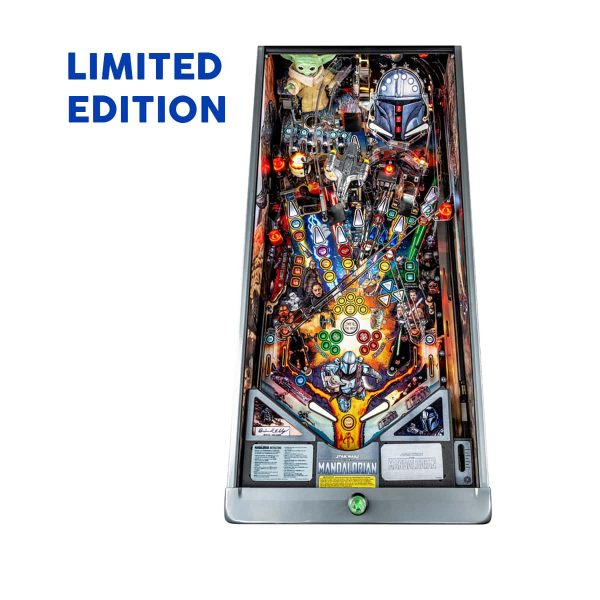 The Mandalorian Limited Edition Playfield by Stern Pinball