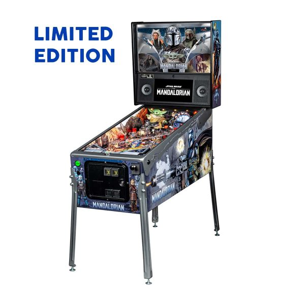 The Mandalorian Limited Edition Full by Stern Pinball