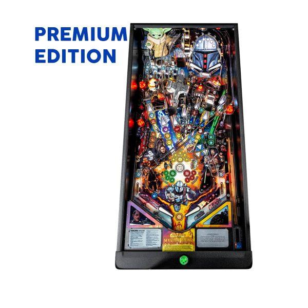 The Mandalorian Premium Edition Playfield by Stern Pinball