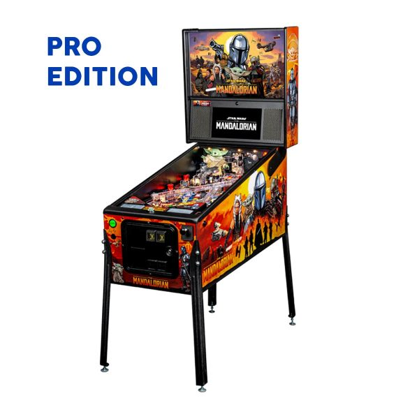 The Mandalorian Pro Edition Full by Stern Pinball