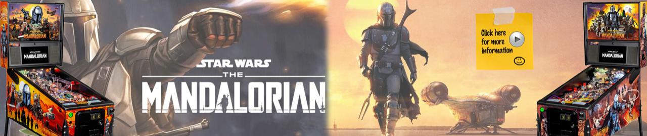 Star Wars - The Mandalorian Pinball by Stern Pinball