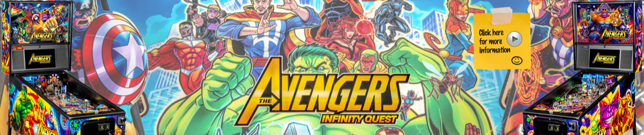 The Avengers Infinity Quest Pinball by Stern Pinball
