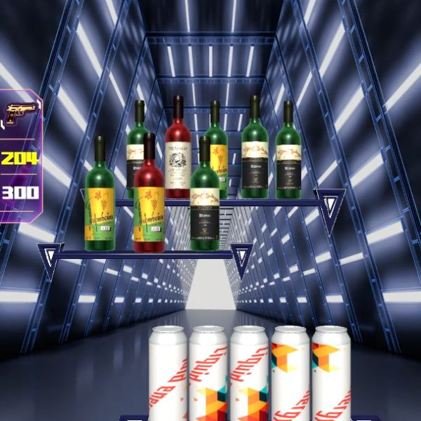 Electrocoin Skill Shooter - Bottles and Cans Stage