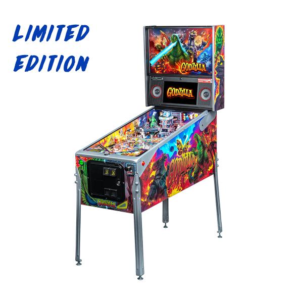 Godzilla Limited Edition Cabinet by Stern Pinball