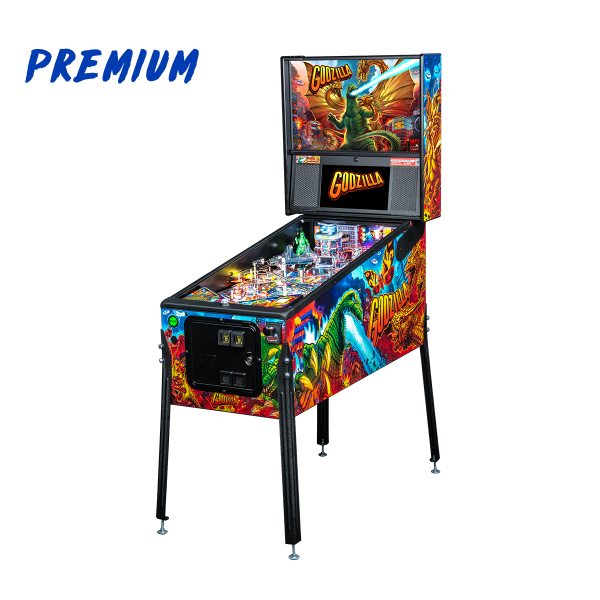 Godzilla Premium Edition Cabinet by Stern Pinball